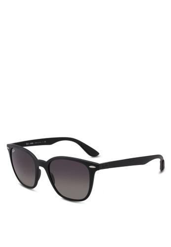 Ray-Ban 黑色 RB4297 Sunglasses 9914FGLDE3988BGS_1