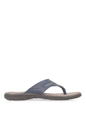 JAVA SEVEN black JAVA SEVEN Shoes Habana 2 Brown Men's Y-Strap Sandal & Flip Flops JA154SH43ILKID_1
