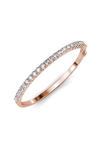 7a6f0dbc3a027 Circle Tennis Bangle (Rose Gold) - Embellished with Crystals from Swarovski®