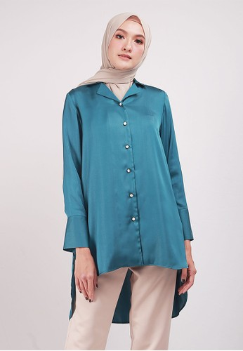 SHAFIRA green Ariana Tunic 097BEAA386B813GS_1