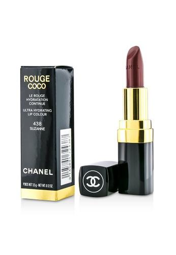 Chanel CHANEL - Rouge Coco Ultra Hydrating Lip Colour - # 438 Suzanne 3.5g/0.12oz 2E83DBEA25F1B2GS_1