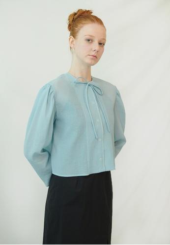 TAV [Korean Designer Brand] Wellington Jacket - Blue D8B61AA8758270GS_1