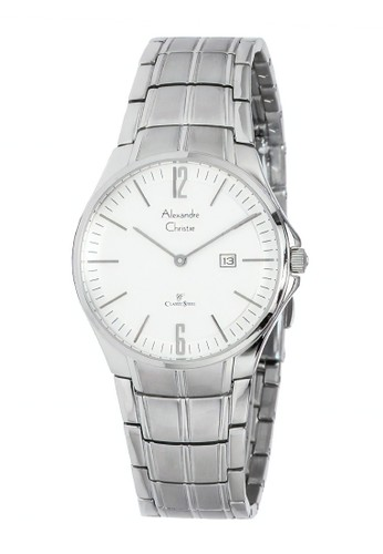 Alexandre Christie silver Alexandre Christie Jam Tangan Wanita - Silver White - Stainless Steel - 8507 LDBSSSL 4E289AC811DEA2GS_1