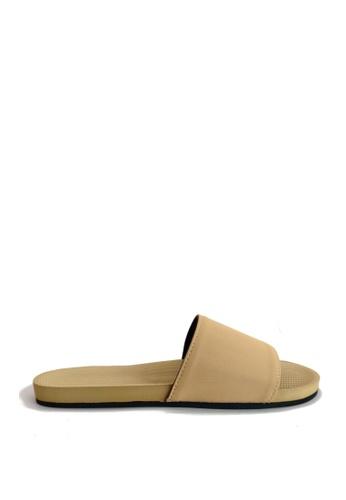 Indosole beige Indosole Women's ESSNTLS Slides - Light Soil 3D250SH7983DC0GS_1