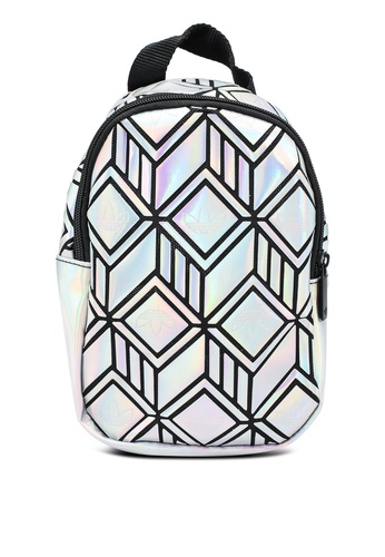 ADIDAS silver mini backpack C4F8EAC6BF27E5GS_1
