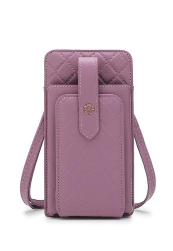 Wild Channel purple Ladies Sling Purse / Card Holder / Phone Holder C9B2CACC640BC5GS_1