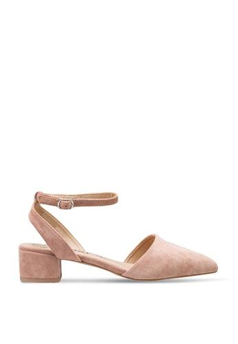 BETSY 粉紅色 Zoey Pointy Heels 807EASHFC3DD09GS_1