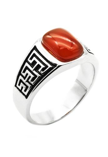 Elfi silver Elfi 925 Genuine Silver Ring R65 (Bronze) - Artha 5AD98AC9077220GS_1
