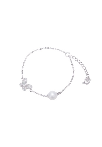 Pearly Lustre silver Pearly Lustre Wonderland Freshwater Pearl Bracelet WB00007 3F8CCACAA3212BGS_1