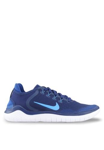 Nike blue Nike Free Rn 2018 Shoes 2F72ASH2EDCB70GS_1