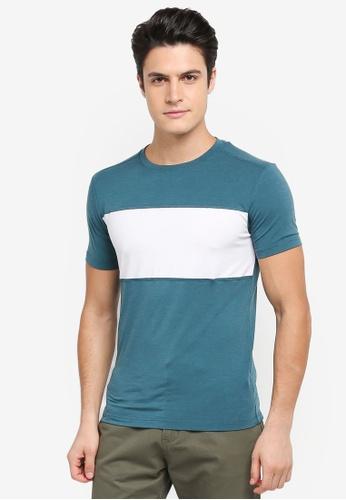 Calvin Klein navy Bold Block Short Sleeve T-Shirt - Calvin Klein Performance D14A2AAEF03AEAGS_1