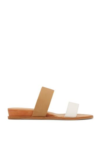 ROC Boots Australia multi Pacco Tan/White Sandal RO517SH00QOXHK_1