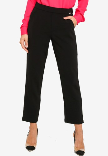 GUESS black Eleanor Jogger Pants 796A5AA52B0799GS_1
