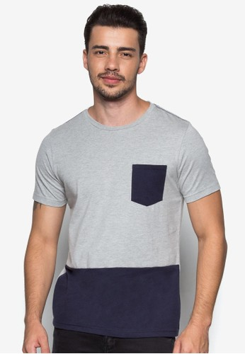 Sesprit分店hort Sleeve Basic Tee, 服飾, 素色T恤