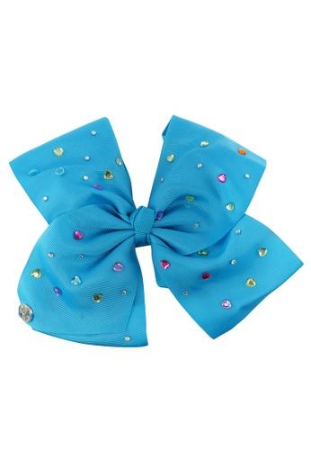 Jojo Siwa JOJO SIWA BOW WITH CLIP (BLUE RHINESTONE) 3246EKC86CF828GS_1