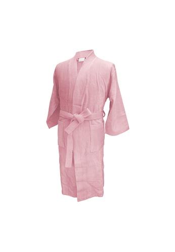 Charles Millen Charles Millen Bathrobe Kimono Style ( light weight, Stylish Robe ). A8E80HL1053A55GS_1