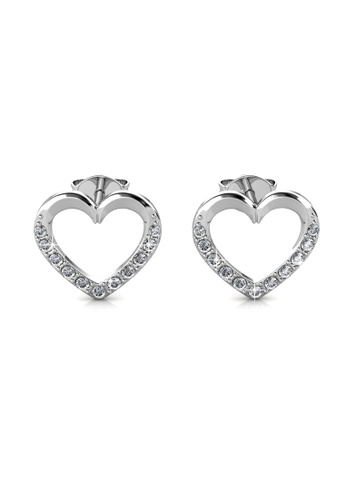 Her Jewellery silver Lovett Earrings -  Made with premium grade crystals from Austria HE210AC0GLSOSG_1