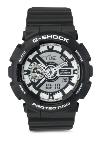 Casio black Casio Ladies Wristwatch CA843AC0T07DMY_1