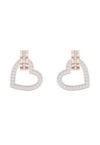 Swarovski 金色 Lovely Pierced Small Earrings F2B52AC51402CEGS_1