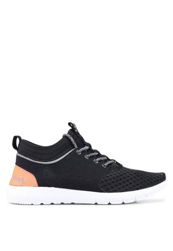 Superdry black Super Mesh Runner Sneakers C4B0ESH6DE4F8AGS_1
