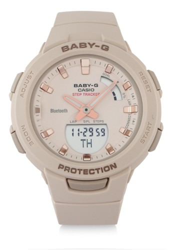 Baby-G pink Women Analog Watches Bsa-B100-4A1Dr C5AABACC06FB01GS_1
