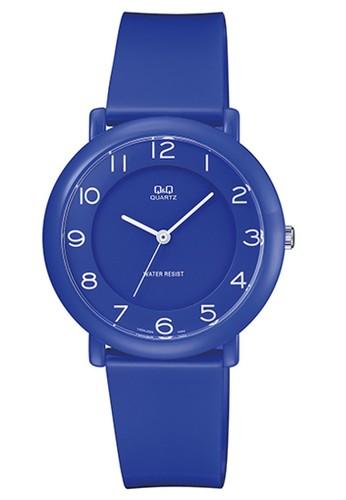 Q&Q blue Q&Q QNQ QQ Original Watch Jam Tangan Pria / Wanita Tali Karet VQ94J020Y BB75DACC37C9B6GS_1