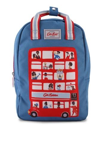 Cath Kidston beige London People Kids Backpack w/ Strap A0E80KCB7E7C25GS_1