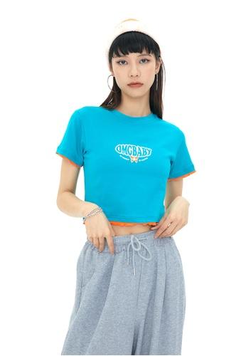 Twenty Eight Shoes Slim Embroidered Short Sleeve T-shirt HH0010 1345DAA5B2AC3FGS_1