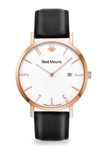 René Mouris black and multi L'Emporter - 41mm Classic Quartz Watch A1F7CAC5496AB2GS_1
