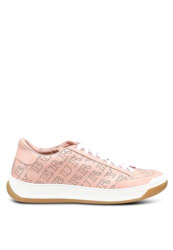 Burberry pink Timsbury Sneakers (oc) 2B92CSH01E81E7GS_1