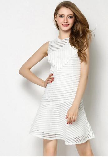 Sunnydaysweety white White Vest One Piece Dress CA022401W SU219AA0GNSSSG_1