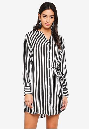 Vero Moda black Bloom Shirt Dress F3E75AA0AB79D9GS_1