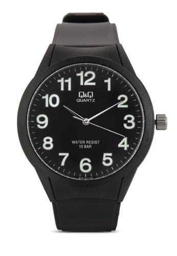VResprit香港門市28J004Y 數字圓框手錶, 錶類, 飾品配件