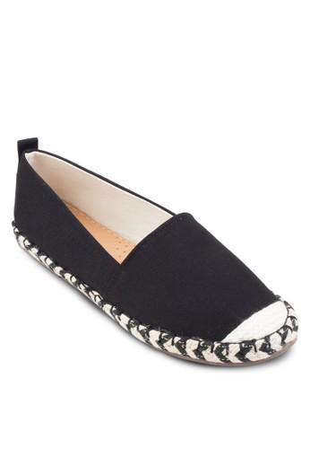 Kalia 雙色編織esprit分店麻繩懶人鞋, 女鞋, 鞋