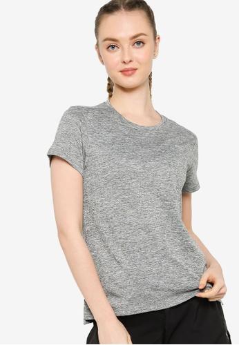 Puma grey Favourite Heather Short Sleeve Tee 92924AAAC1ADC3GS_1