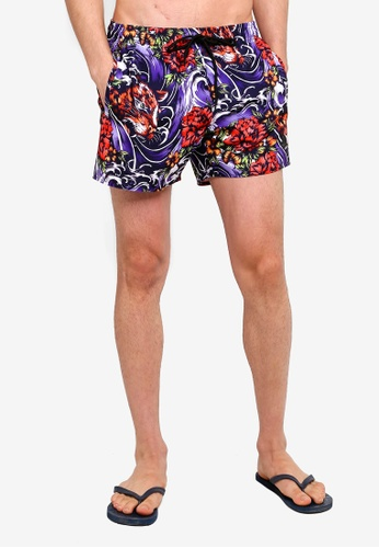 af9c997b18 Buy Topman Tiger Baroque Printed Swim Shorts Online on ZALORA Singapore