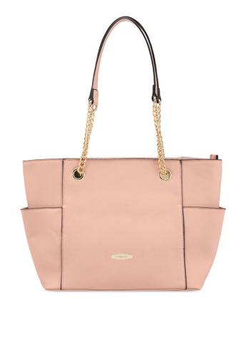Perllini&Mel orange Faux Leather Tote Bag PE444AC0SIZPMY_1