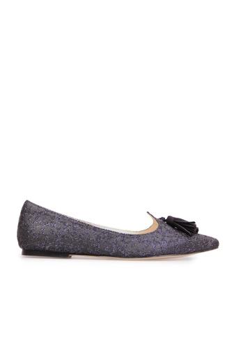 Sunnydaysweety black Korean Pointed Leopard Tassel Flat Shoes  R092231 SU443SH2VG00HK_1