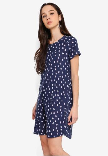 Cotton On navy Tina T-Shirt Dress 18DFEAA5827F38GS_1