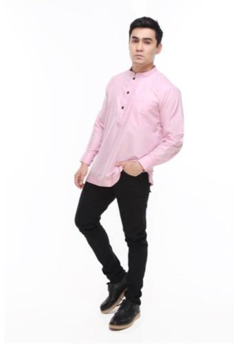 Amar Amran pink Kurta Al Hazim 2.0 17DB4AA5D5B452GS_1