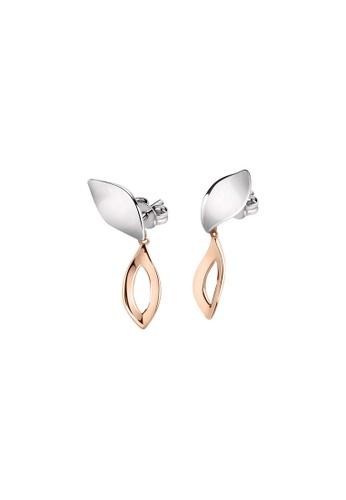 Morellato silver Morellato Foglia Stering Silver 925 Ladies Earrings SAKH40 9DED9AC14E1B51GS_1