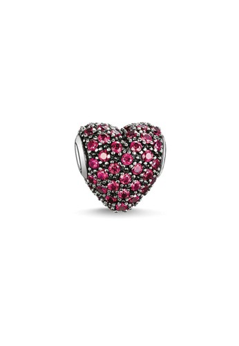 Thomas Sabo red Bead Red Pave Heart 42414ACCE14AB2GS_1