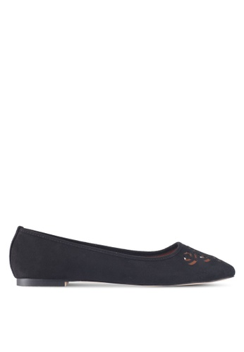 ZALORA black Cut-out Flats FD353SH8C839C8GS_1