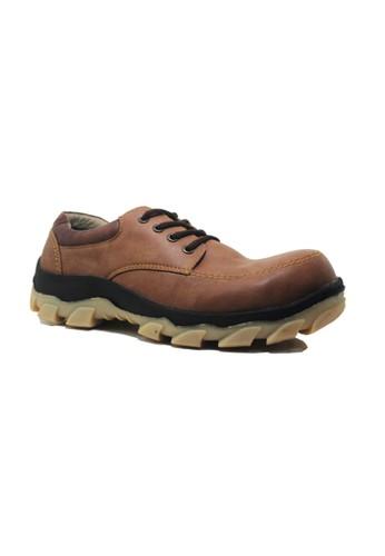 Cut Engineer brown Cut Engineer Safety Low Boots Luxury Resistant Brown CU226SH34APPID_1