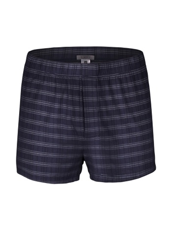 Tani blue Tani LuxeLine Men's MicroModal® AIR Trunks T29068R 7DD17AABABA154GS_1