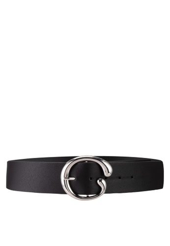 Pieces black Juci Waist Belt 44395AC53C17F0GS_1