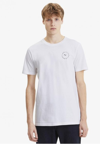 puma white Only See Great Men's Tee A3AA5AA73F50D7GS_1