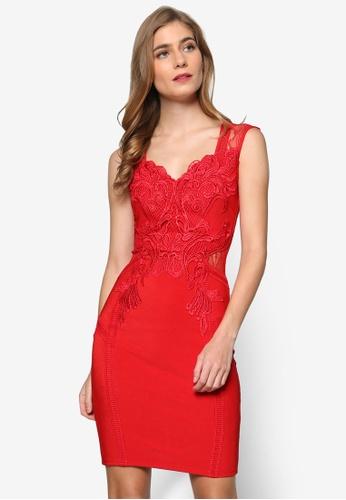 lipsy-red-bodycon-evening-dress