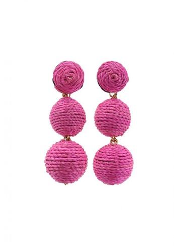 Style Cat pink Style Cat Havana Ball Earrings 56199AC9D1753CGS_1