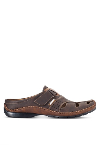 Louis Cuppers brown Casual Mules LO977SH96VOXMY_1